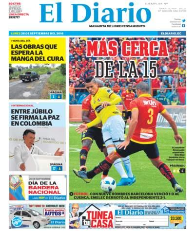 Impreso Lunes 26 Septiembre 2016