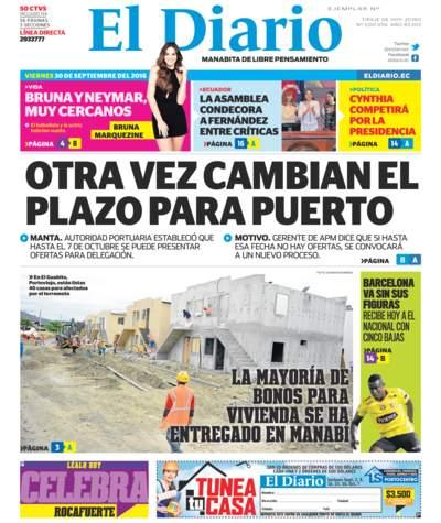 Impreso Viernes 30 Septiembre 2016