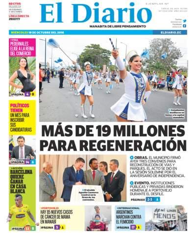 Impreso Miércoles 19 Octubre 2016
