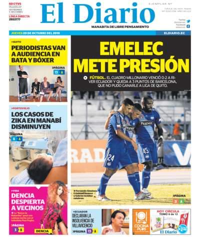 Impreso Jueves 20 Octubre 2016