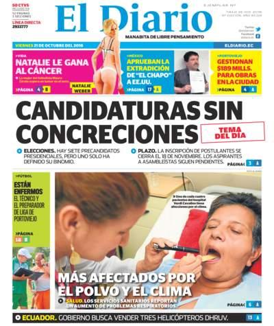 Impreso Viernes 21 Octubre 2016