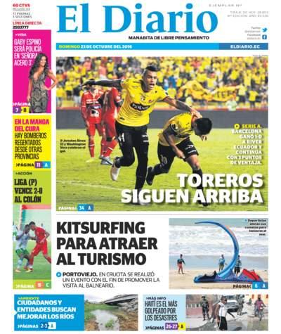 Impreso Domingo 23 Octubre 2016