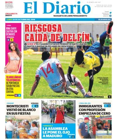 Impreso Lunes 24 Octubre 2016