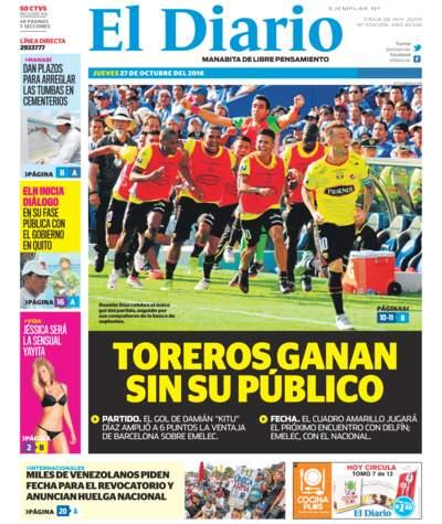 Impreso Jueves 27 Octubre 2016