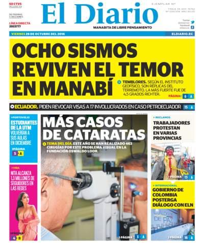 Impreso Viernes 28 Octubre 2016