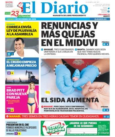 Impreso Viernes 02 Diciembre 2016