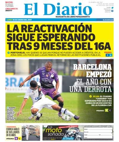 Impreso Lunes 16 Enero 2017