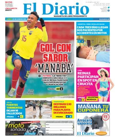Impreso Lunes 23 Enero 2017