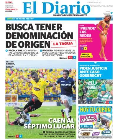 Impreso Lunes 27 Marzo 2017