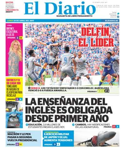 Impreso Lunes 24 Abril 2017