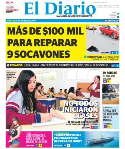 Impreso Martes 25 Abril 2017