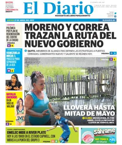 Impreso Jueves 27 Abril 2017