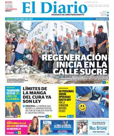 Impreso Sábado 29 Abril 2017