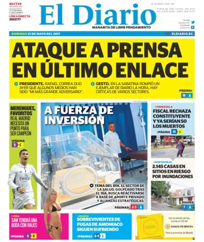 Impreso Domingo 21 Mayo 2017