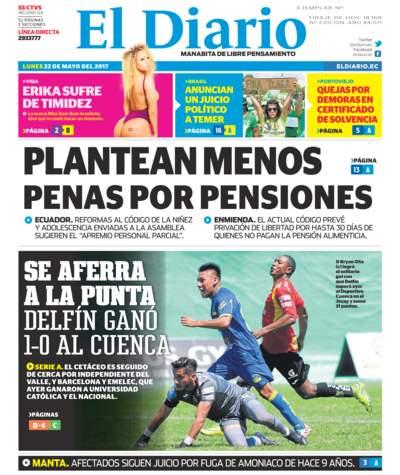 Impreso Lunes 22 Mayo 2017