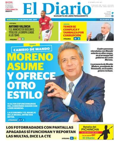 Impreso Miércoles 24 Mayo 2017