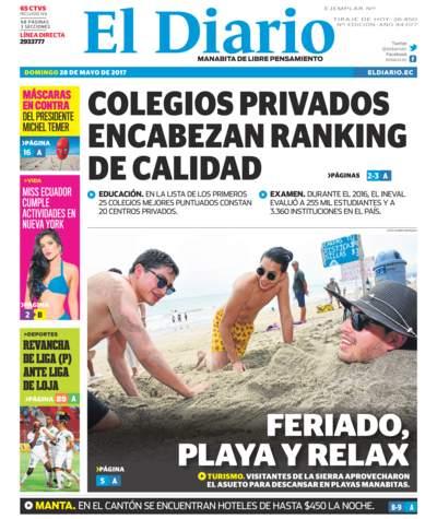 Impreso Domingo 28 Mayo 2017