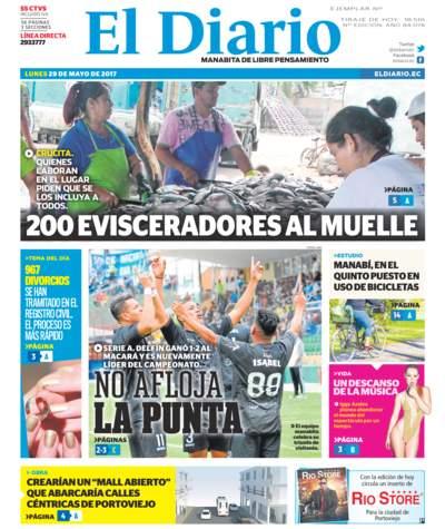 Impreso Lunes 29 Mayo 2017