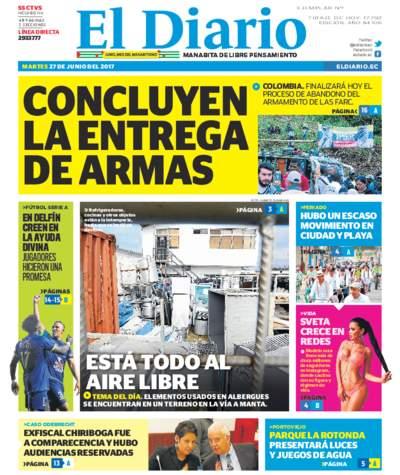 Impreso Martes 27 Junio 2017