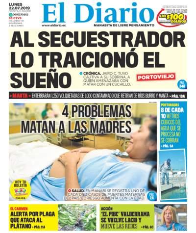 Impreso Lunes 22 Julio 2019