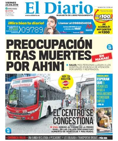 Impreso Viernes 23 Agosto 2019