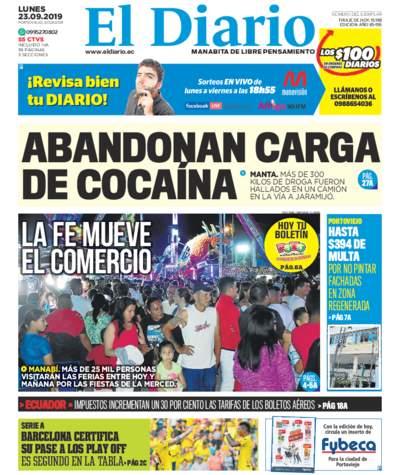 Impreso Lunes 23 Septiembre 2019