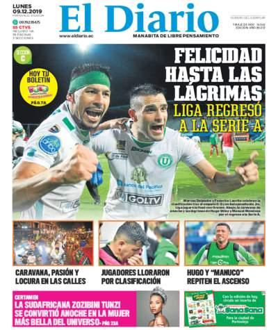 Impreso Lunes 09 Diciembre 2019